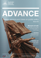Advance magazine winter 2014 edition