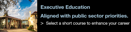 Executive Education Aligned with public sector priorities