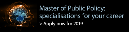 Master of Public Policy specialisations