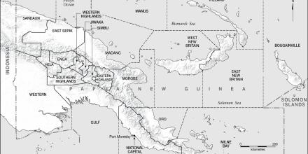 PNG Economic Database launch