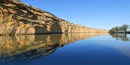 Picture of the Murray river system