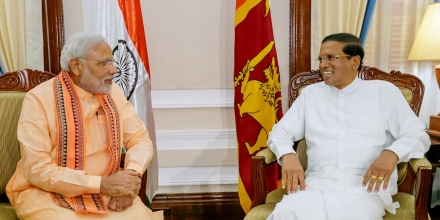 PM Modi's Visit by President of Sri Lanka via Flickr