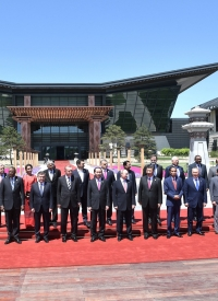 Participants of the Belt and Road international forum, May 2017